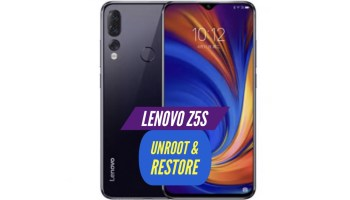 How to Unroot Lenovo Z5 & Install Stock ROM: RESTORE