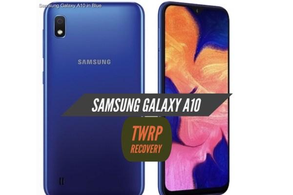 TWRP Samsung Galaxy A10