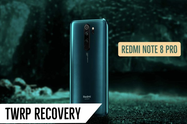 TWRP Recovery Redmi Note 8 Pro