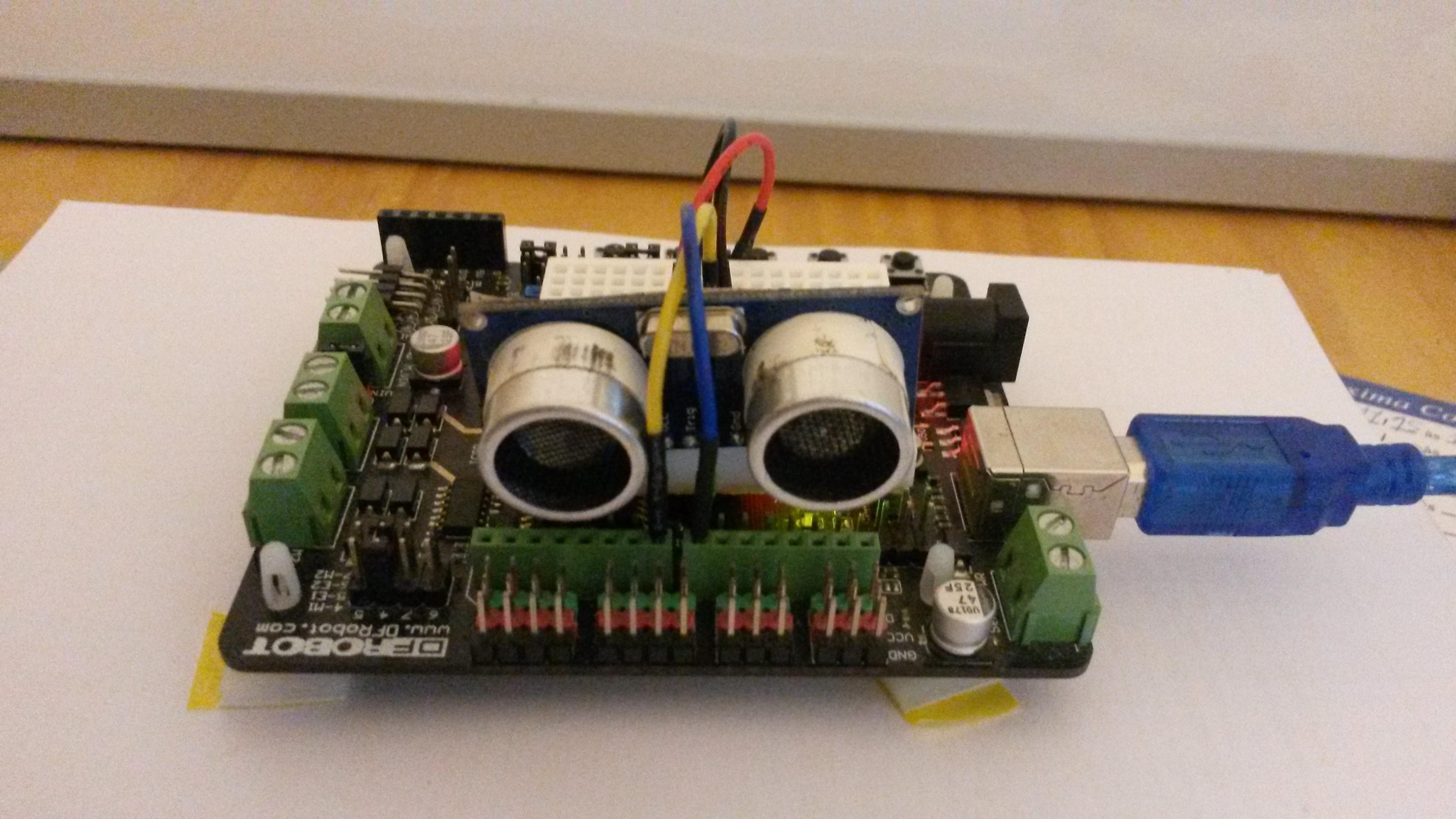 Sensor de distância HC-SR04 com Arduino e Programação C#