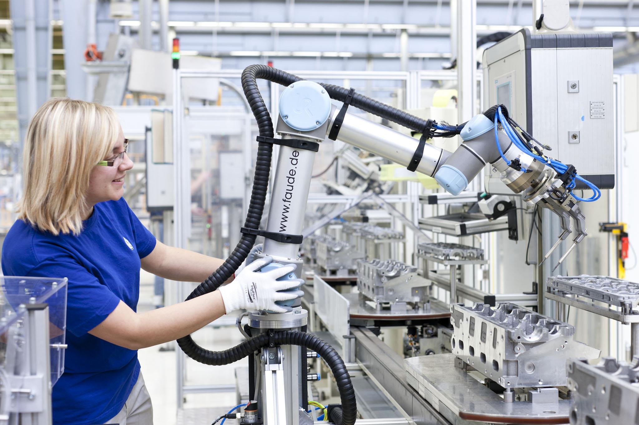 Está preparado para ter um robot como colega?