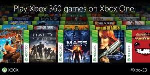 Jogos Xbox 360 com retro-compatibilidade para a XBOX One