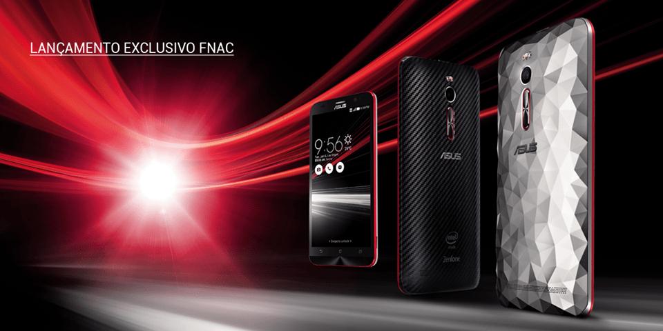 ASUS lança smartphone ZenFone 2 Deluxe Special Edition