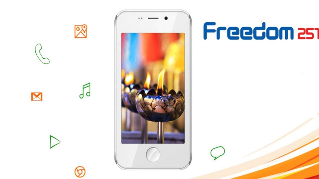 Freedom 251: o smartphone mais barato do mundo