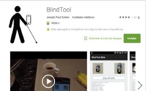 Blind Tool: invisuais descobrem que objetos os rodeiam através do telemóvel