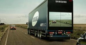 """Camião """"invisível"""" assegura maior segurança rodoviária"""