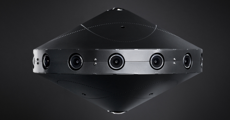 Facebook apresenta câmara 360