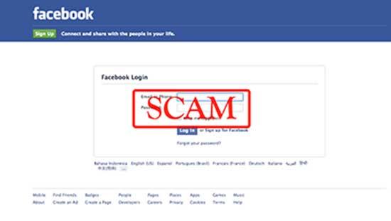 Novo ataque pishing no Facebook 2