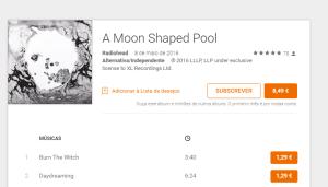 É fã dos Radiohead? O novo álbum já está na Google Play Music