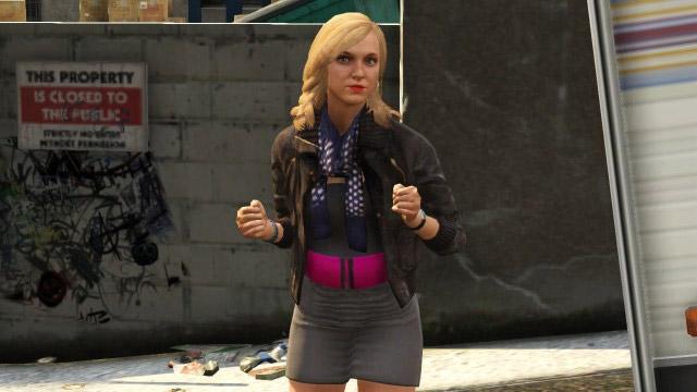 Lacey Jonas no jogo GTA V