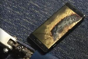 Ladrão rouba Galaxy Note 7 e este explode nas suas mãos