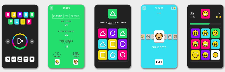 Super Flip: Jogo para smartphone desenvolvido por um casal português