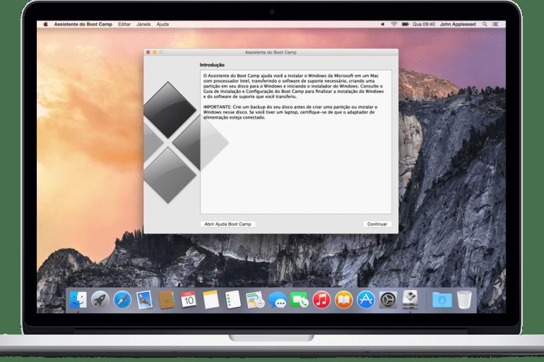 criar pendrive bootavel mac pelo windows