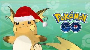 Pokémon Go: Apanhe também um Raichu com o chapéu de Natal