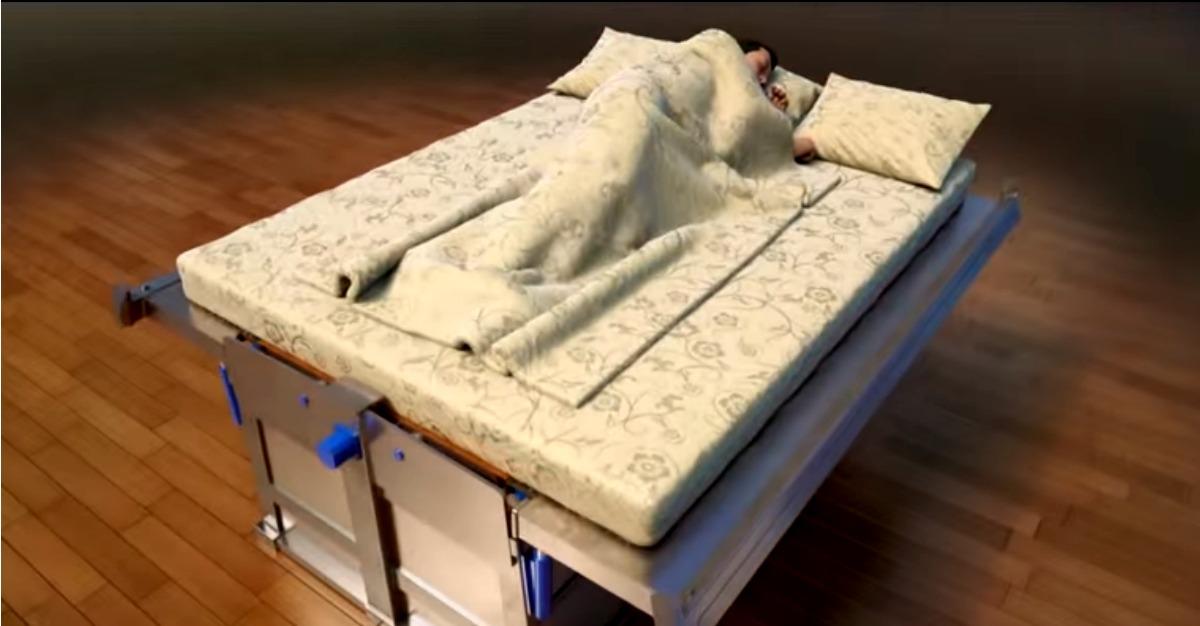 Esta cama promete salvar pessoas em caso de terramoto