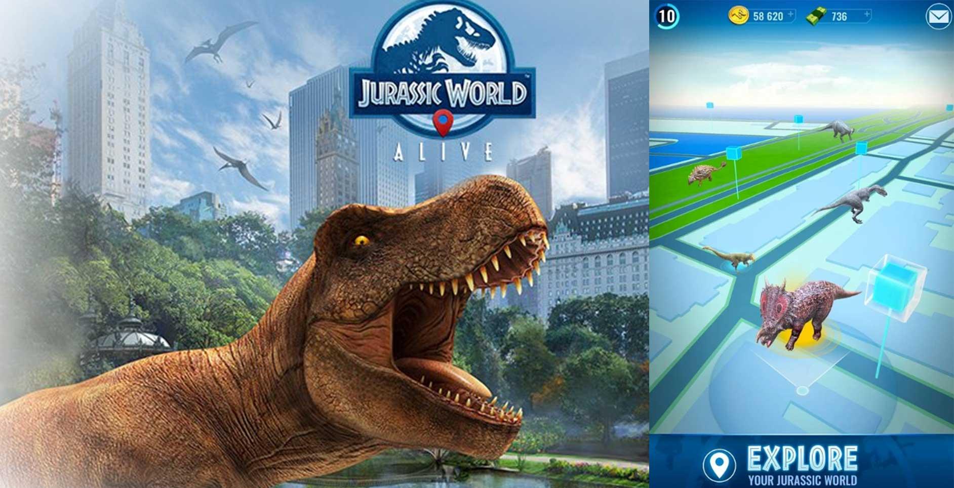 Jurassic World Alive: O novo Pokémon Go com dinossauros