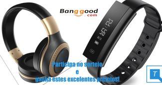 Ganha uns headphones e um smartwatch