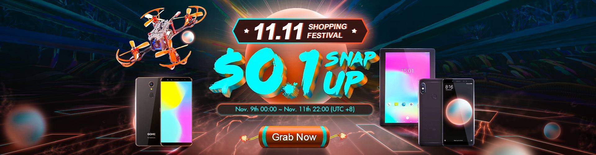 11.11 Banggood: Encontre os melhores artigos ao melhor preço