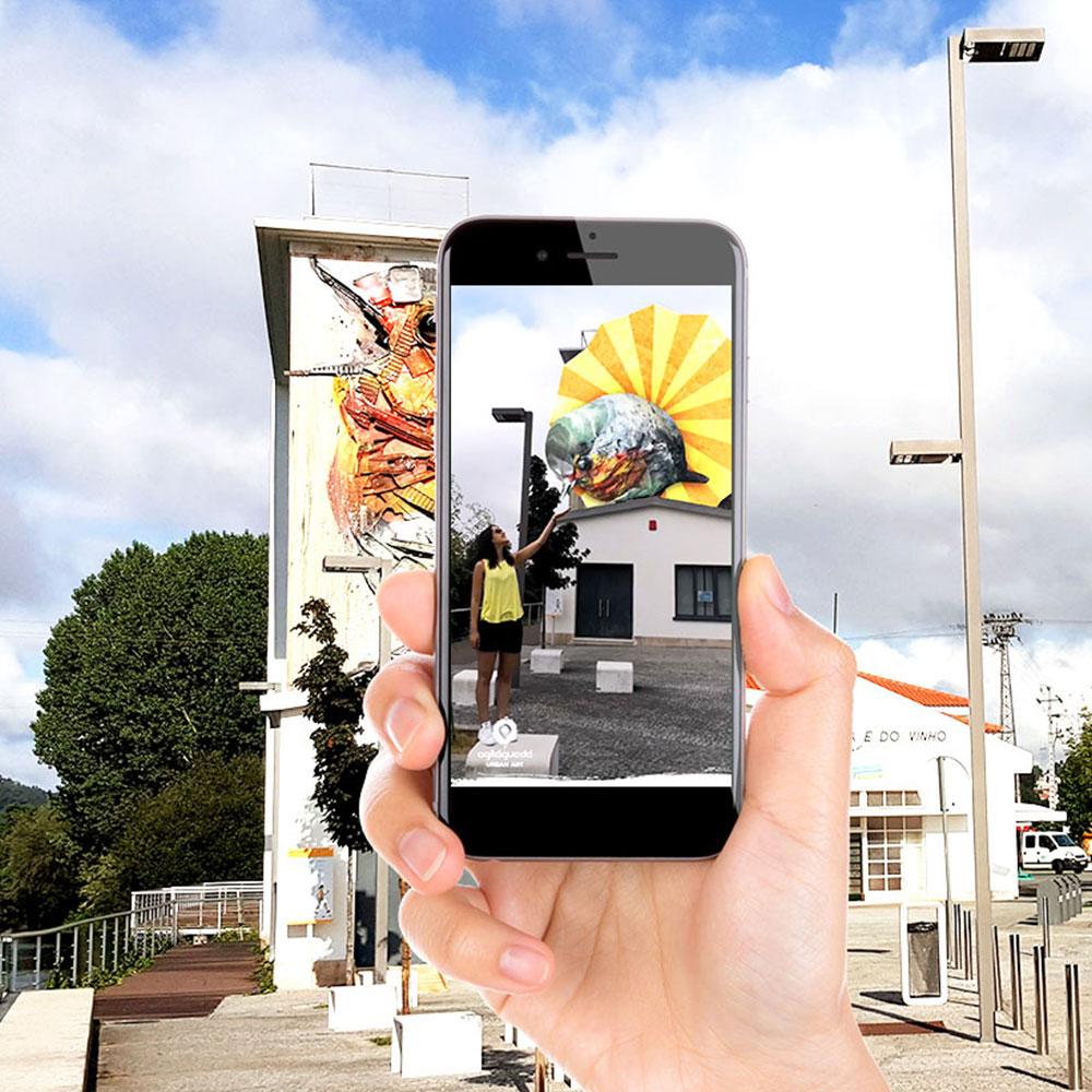 WebSummit ficou a conhecer ARt: a app portuguesa de Realidade Aumentada para Arte Urbana