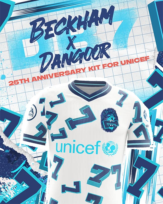 FIFA 22 David Beckham UNICEF