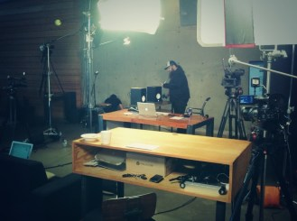 Hosting another show at CreativeLive.com, this time filmed on location at Chase Jarvis Studios.