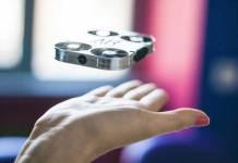 Selfie Drone Captures Photos and Videos in Midair