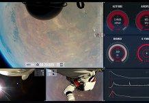 Falling faster: The surprising leap of Felix Baumgartner