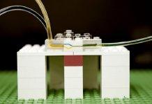 A new platform for microfluidics from LEGO bricks