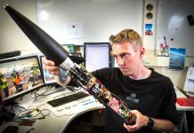University of Canterbury doctoral student Philipp Sueltrop, in Electrical and Computer Engineering in UC's College of Engineering, is working to prevent the effects of fuel slosh in rockets using mathematical algorithms, by predicting movement and adjusting the flight movement before fuel slosh becomes a problem.