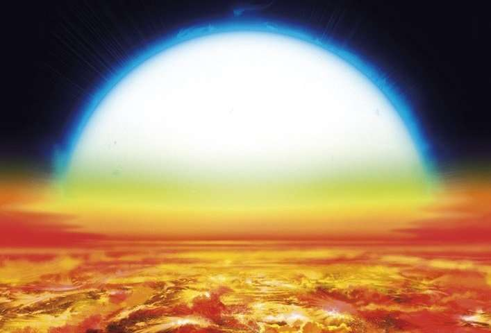 Scientists detected iron and titanium in the atmosphere of a ultra hot exoplanet