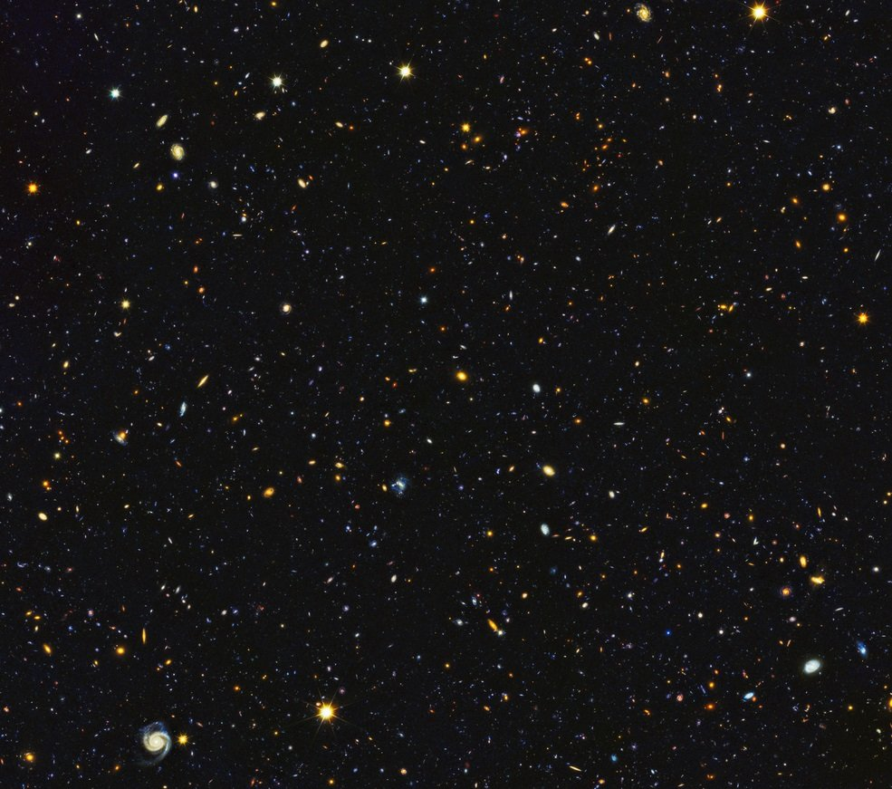 Hubble paints picture of the evolving universe