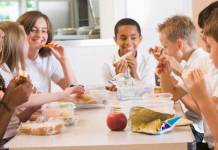 Children who eat lunch score 18 percent higher in reading tests