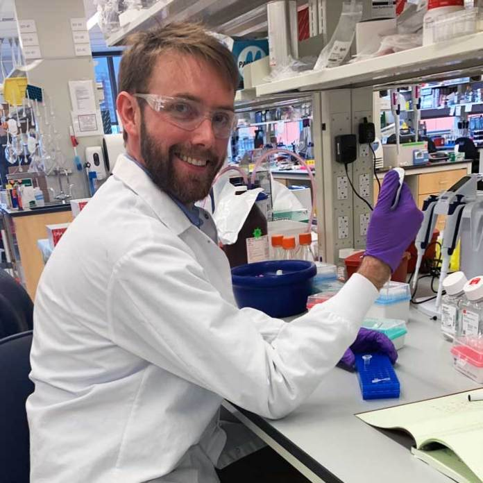 Brian Cafferty, a postdoctoral scholar in the lab of George Whitesides