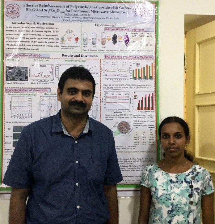 Dr Subodh Ganesanpotti and Vidhya Lalan