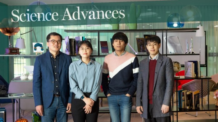 From left are Professor Wonyoung Choe