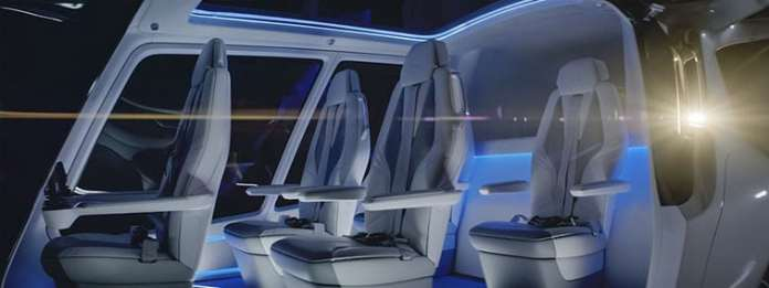 Alaka'i Technologies' Skai can accommodate one pilot and four passengers, with a carrying capacity of 1,000 lb (454 kg)/ Image: Alakai