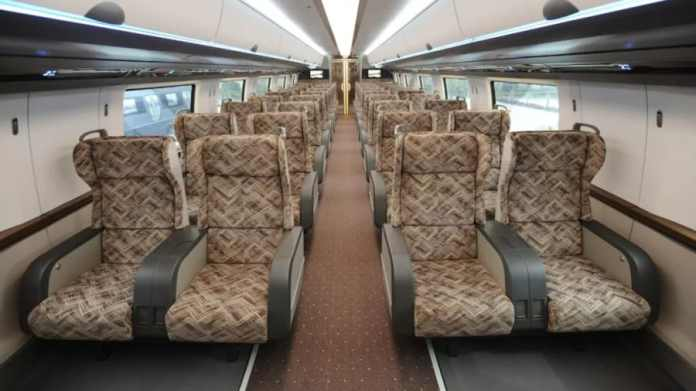 New train makes rail travel more attractive
