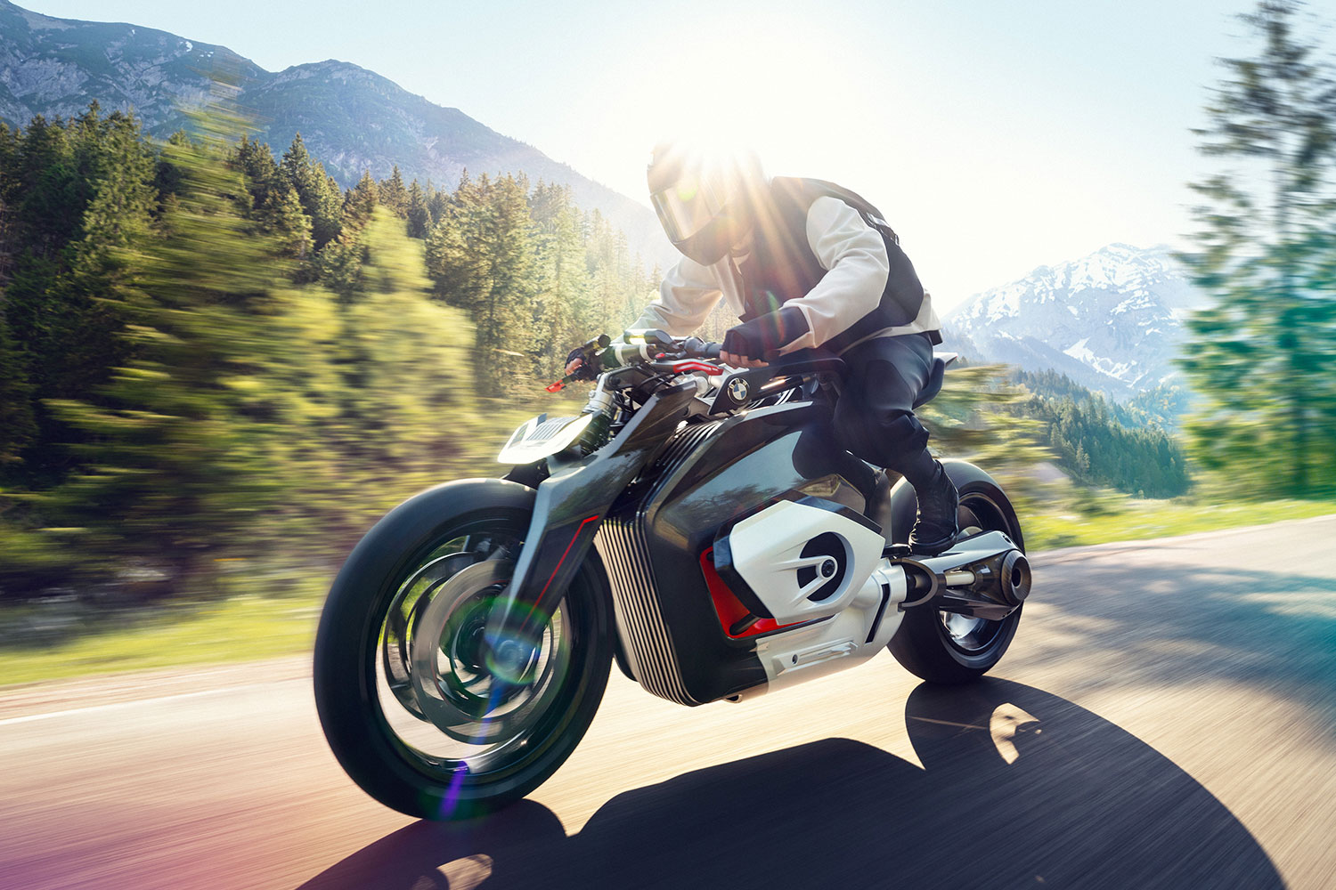 BMW revealed its Vision DC Roadster electric bike concept