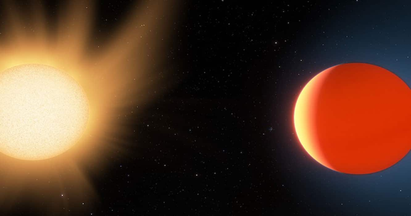 Study portrays the atmosphere of exoplanet 'hot Neptune'