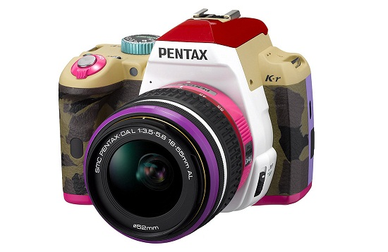 Pentax K-r BONNIE PINK MODEL DSLR