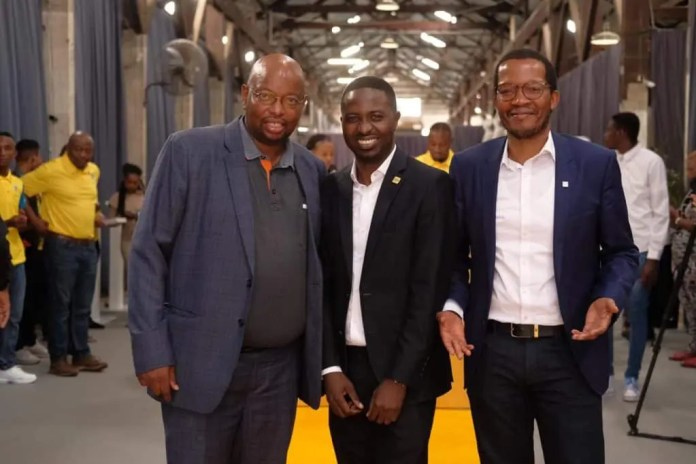 Luthando Vutula, Felix Kamenga and Godfrey Motsa