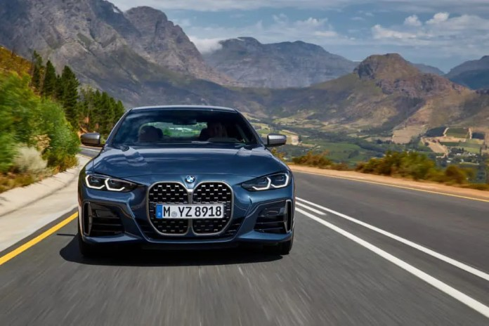 The all-new BMW 4 Series Coupé