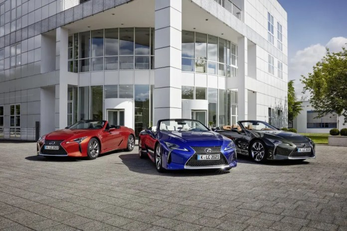 LEXUS LC CONVERTIBLE: ULTIMATE BEAUTY