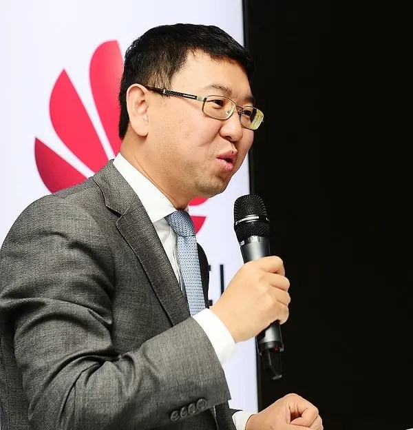 Huawei South Africa CEO Spawn Fan.