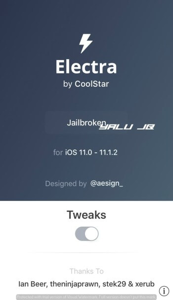 HOW TO INSTALL ELECTRA JAILBREAK TOOLKIT ON IOS 11-11.1.2