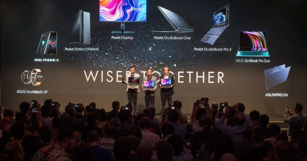 ASUS Announces Digital Solutions for Content Creators, Business Professionals, Health and Fitness Enthusiasts, and Gamers at IFA 2019