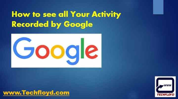 Activity Record Google