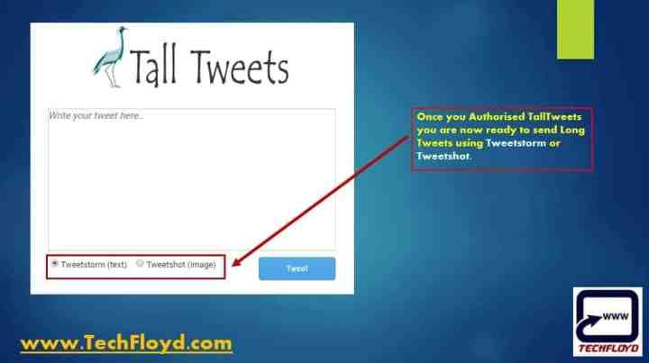 How to Send Tweets Beyond Twitter Character Limit_01
