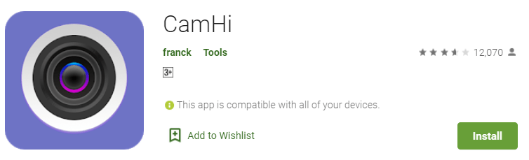 CamHi for PC