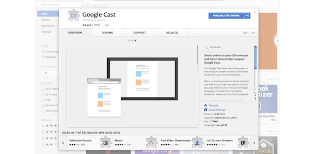 Chromecast for Mac